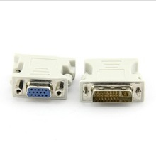 2014 China manufacturer Dvi male to vga female adapter converter , gold planted, for PC,HDTV