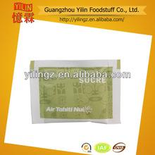 rekabetçi fiyat 5g baharat toptan rafine beyaz şeker kamışı poşet anlık çay HACCP ve ISO