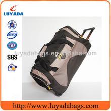 Manufacturer supplier fashion wheeled travel trolley bag