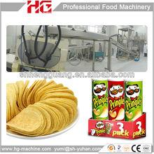 frying machine for potato crisp production