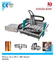 Desktop Mini CNC Router/Mini Advertising machine/CNC Engraving Machine for wood,metal,acrylic,pvc,mdf,stone,etc.HD-6090
