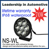 2014 new product 70W 11000lm IP68 waterproof certificate led tuning light led work light