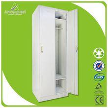 OEM accepted multi-functional 2 door clothing steel locker/wardrobe
