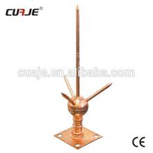 copper lightning rod,copper detector, lightning rod arrester