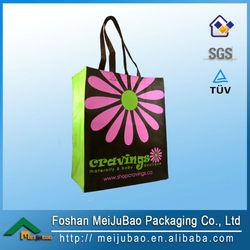 2014 new product laminated reusable shopping bag