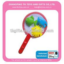elementi di novità giocattolo di plastica mare animali reti da pesca per bambini gioco con en71