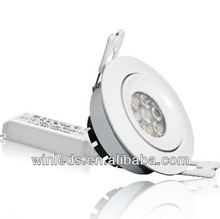 8w led ceiling light made in china Nichia led dimmable ,3 years warranty