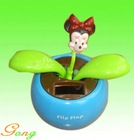 Free Sample Swing Dancing Solar Flower Toy for Wholesale