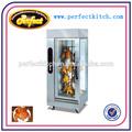 Industrial gás frango rotisseries/gás grill frango/roaster da galinha com auto- matic de rotação