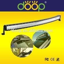 High Intensity! 50Inch 288W Curved LED light bar off road cree light bars 4x4/truak/jeep/boat car accessory