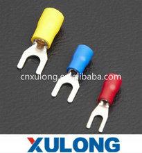 PBDD piggyback pre-insulate cable crimping terminal Red color