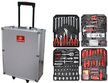 Professional 186 trolley tools box (tools;motorcycle repair tools kit)