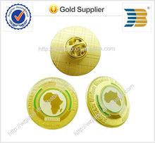 2014 di alta qualità fabbrica di metallo pin per distintivo