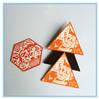 custom pvc/resin souvenir children toy soft portable multi shape geometry pin paper fridge magnet