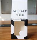 Wholesale Fashion Custom Folding Paper Box With Clear PVC Window