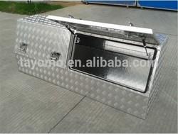 Hot sale! Aluminum Truck /Ute Tool Boxes, Aluminum tool boxes with 2 lids, suitable for Australia/ Europe market.