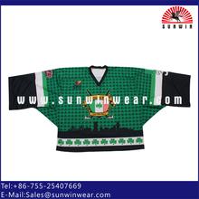 Team set hockey clothing logo hockey stick top 11 years factory experience
