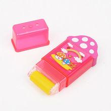 Licheng ED38A Rubber Eraser, School Eraser, Novelty Custom Printing Pencil Eraser