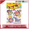 Meiyijia venda direta brinquedosdeplástico intelecto de engomadoria miçangas educacional brinquedos de tecido bt-0056b