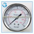 de alta calidad de acero inoxidable de latón presión interna kg de calibre y psi