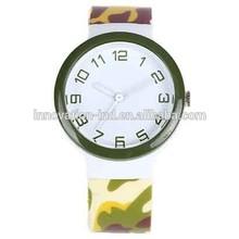 Customized gift Camouflage fashion watch women quartz wrist watch for lady
