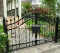 2014 top- vendita di moderno giardino cancello di ferro