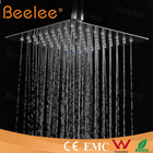 Top Shower Tap Beelee SS 304 Ceiling Mount Outdoor Stainless Steel Shower With Rainshower Heads Price