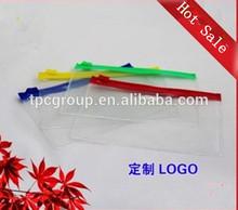 PVC transparent A4 waterproof envelope/Clear pvc zipper bag