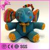 Blue Lucky Elephant Stuffed Toy Pendant, Elephant Key Chain