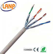 Excellent quality SSTP Cat6a Network wire data cable copper cable
