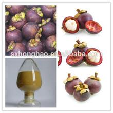 GMP&ISO honghao 100% natural mangosteen extract 10%-90% alpha-mangostin powder