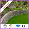 gabion rock retaining wall/plastic coated gabion mattress/gabion box prices