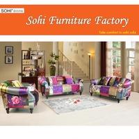 classic sofa 1908, flower fabric sofa, arab sofa set