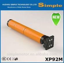 AC tubular motor for rolling shutter-XP92M, roller shutter motor, Manual type, 220V/110V