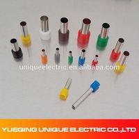 E2518 300V #14A.W.G colorful Vinyl Wire End Caps