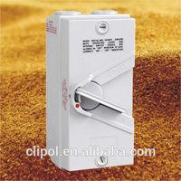 IP66 Australia isolating switches weatherproof isolator