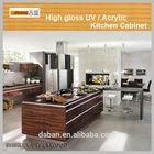 foshan facctory wholesale PVC MDF high gloss acrylic kitchen cabinet / kitchen cabinets wholesale