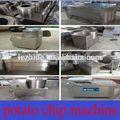 2013 venda quente semi- automática de batata palha máquina