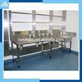 Modernest universidade de ciência açoinoxidável wall bancada/lab móveis