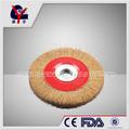nudos de alambre cepillo de la rueda