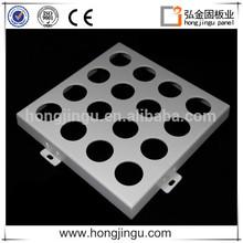 new design PE/PVDF aluminum material perforated metal ceiling panel