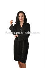 95% viscose 5% elastane women night gown/sexy sleepwear
