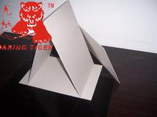 Stiff laminated solid grey board/grey board paper/grey paper board