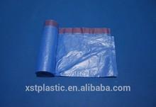 garbage bag with tie drawstring rolling bag