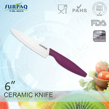 6inch chef knife with different types of handle