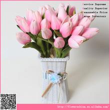 mini artificial tulip, wholesale handmade flower arrangement