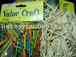 wooden match splints