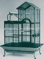 luxuriours wire parrot roll breeding cage with feeders suppliers