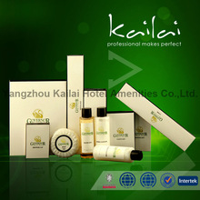 ISO22761 Certified Disposable Hotel Amenity Product