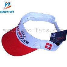 visor cap WITH OEKO-TEX STANDARD 100 CERTIFICATE